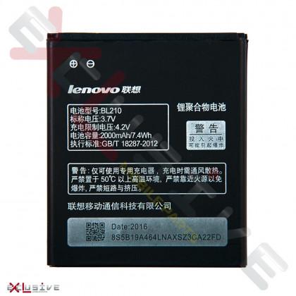 Аккумулятор Lenovo S650, S820, A766 (BL210), фото № 2 - ukr-mobil.com