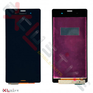 Дисплей Sony D6603 Xperia Z3, D6633 Xperia Z3 DS, D6643 Xperia Z3, D6653 Xperia Z3, с тачскрином, Black