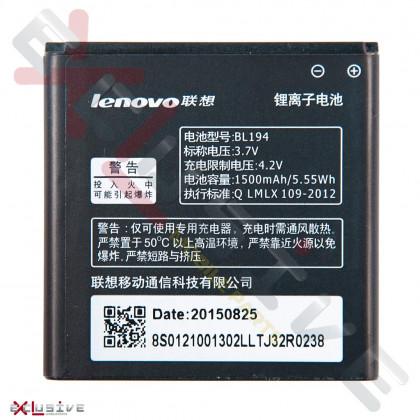 Аккумулятор Lenovo A288t, A298t, A520, A660, A698t, A690, A370, A530, S760 (BL194), фото № 2 - ukr-mobil.com