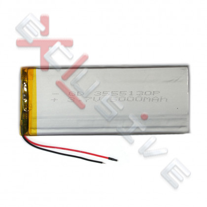Аккумулятор для планшета 3.5*55*130мм / 5000 mAh - ukr-mobil.com