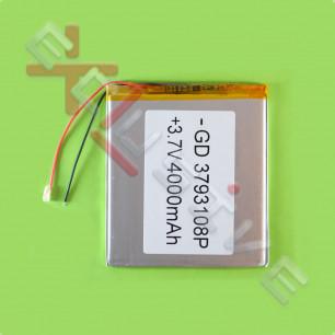 Аккумулятор для планшета 3.7*93*108мм / 4000 mAh