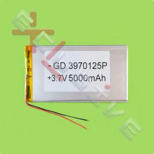 Аккумулятор для планшета 3.9*70*125мм / 5000 mAh