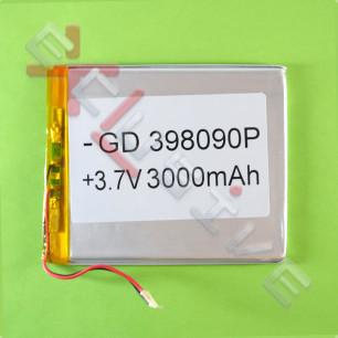Аккумулятор для планшета 3.9*80*90мм / 3000 mAh