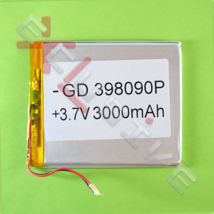 Аккумулятор для планшета 3.9*80*90мм / 3000 mAh - ukr-mobil.com
