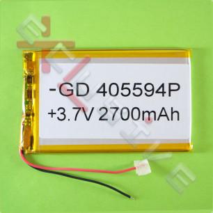 Аккумулятор для планшета 4.0*55*94мм / 2700 mAh