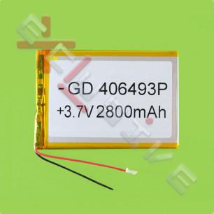 Аккумулятор для планшета 4.0*64*93мм / 2800 mAh