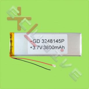 Аккумулятор для планшета 3.5*50*145 мм, (3500 mAh)