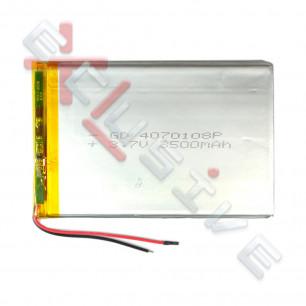 Аккумулятор для планшета 4.0*70*108мм / 3500 mAh