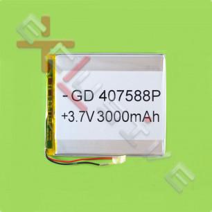 Аккумулятор для планшета 4.0*75*88мм / 4000 mAh