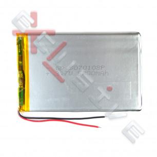 Аккумулятор для планшета 5.0*70*108мм / 5000 mAh