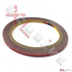 Скотч двусторонний 3M (для приклейки дисплеев, тачскринов) Ширина: 3mm, Длина: 3m