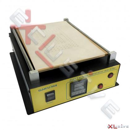Сепаратор дисплейных модулей с цифровым контроллером Baku 968 вакуумний, 350Вт, Размер: 10.1 inch - ukr-mobil.com