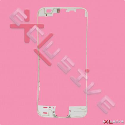 Рамка дисплея Apple iPhone 5S, White, фото № 1 - ukr-mobil.com