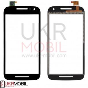 Сенсор (тачскрин) Motorola XT1540, XT1541, XT1544, XT1548, XT1550 Moto G3, Black