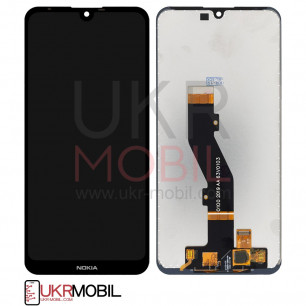 Дисплей Nokia 3.2 Dual Sim TA-1156, TA-1164, с тачскрином, High Copy, Black