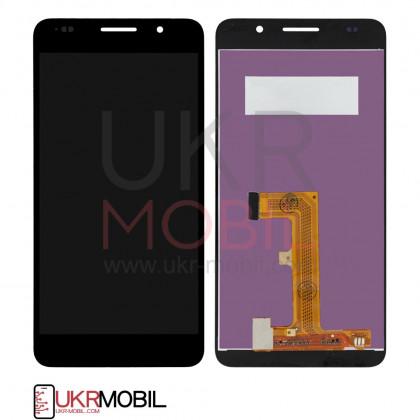 Дисплей Huawei Honor 6 (H60-L02), с тачскрином, Black - ukr-mobil.com