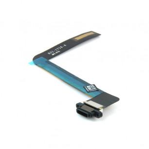 Шлейф Apple iPad Air, iPad 5 (A1474, A1475, A1476) коннектор зарядки, Black, Original