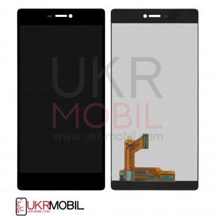 Дисплей Huawei Ascend P8 (GRA-L09), с тачскрином, Black