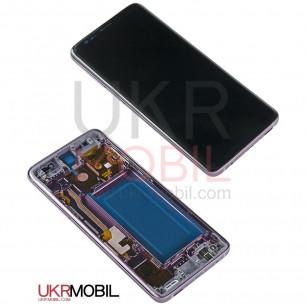Дисплей Samsung G960 Galaxy S9, с тачскрином, рамкой, Original PRC, Lilac Purple