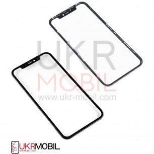 Стекло дисплея Apple iPhone 11, с пленкой OCA, с рамкой, Original, Black
