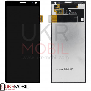 Дисплей Sony i3113 Xperia 10, I3123 Xperia 10, L4113 Xperia 10, L4193 Xperia 10, с тачскрином, High Copy, Black