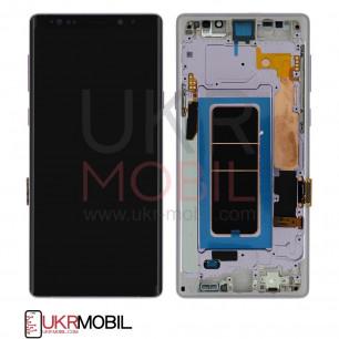Дисплей Samsung N960 Galaxy Note 9, Original, с тачскрином, рамкой, Purple