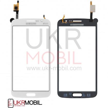 Сенсор (тачскрин) Samsung G7102 Galaxy Grand 2 Duos, High Copy, White - ukr-mobil.com