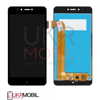 Дисплей Prestigio MultiPhone 3531 Muze E3, MultiPhone 7530 Muze A7, MultiPhone PSP 3530 Muze D3, с тачскрином, Black - ukr-mobil.com