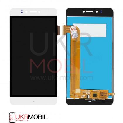 Дисплей Prestigio MultiPhone 3531 Muze E3, MultiPhone 7530 Muze A7, MultiPhone PSP 3530 Muze D3, с тачскрином, White - ukr-mobil.com