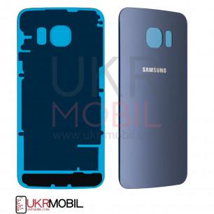Задняя крышка Samsung G925 Galaxy S6 Edge, High Copy, Blue