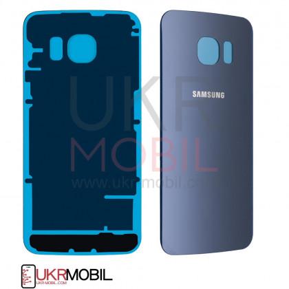 Задняя крышка Samsung G925 Galaxy S6 Edge, High Copy, Blue - ukr-mobil.com