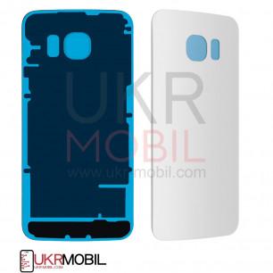 Задняя крышка Samsung G925 Galaxy S6 Edge, High Copy, White