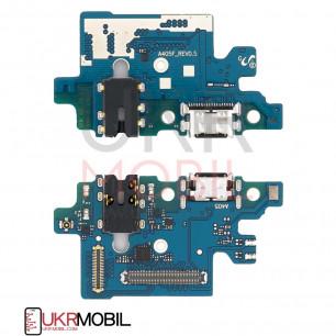 Шлейф Samsung A405 Galaxy A40, с разъемом зарядки, гарнитуры, Original PRC