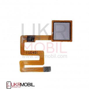 Шлейф Xiaomi Redmi Note 4 с сканером отпчетака пальца, Серый