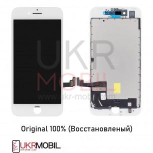 Дисплей Apple iPhone 7, с тачскрином, Original (Восстановленый), White