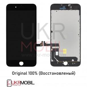 Дисплей Apple iPhone 7 Plus, с тачскрином, Original (Восстановленый), Black