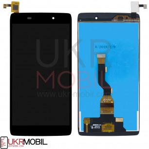 Дисплей Alcatel 6039Y One Touch Idol 3 mini, с тачскрином, Black