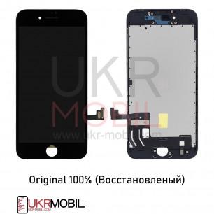 Дисплей Apple iPhone 8, iPhone SE 2020, с тачскрином, Original (Восстановленый), Black