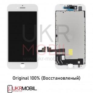 Дисплей Apple iPhone 8, iPhone SE 2020, с тачскрином, Original (Восстановленый), White
