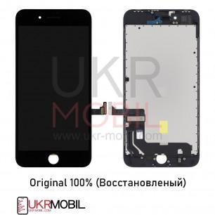 Дисплей Apple iPhone 8 Plus, с тачскрином, Original (Восстановленый), Black