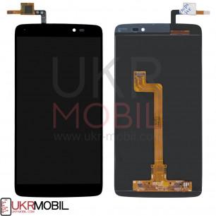 Дисплей Alcatel 6045 One Touch Idol 3, с тачскрином, Black