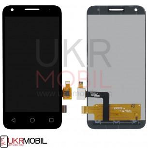 Дисплей Alcatel 5017D OneTouch Pixi 3, с тачскрином, Black