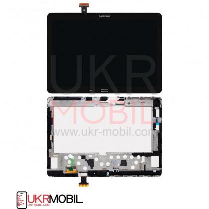 Дисплей Samsung P600 Galaxy Note 10.1, P605 Galaxy Note 10.1, с тачскрином, Black, Original - ukr-mobil.com