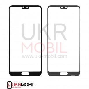 Стекло дисплея Huawei P20 (EML-L09, EML-L29), Black