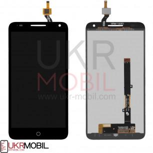 Дисплей Alcatel 5025D One Touch Pop 3 Dual SIM, с тачскрином, Black