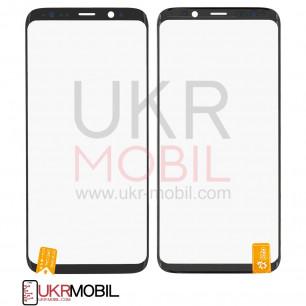 Стекло дисплея Samsung G965 Galaxy S9 Plus, с OCA пленкой, Original PRC, Black