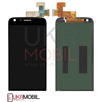 Дисплей LG G5 H820, G5 H830, G5 H850, G5 LS992, G5 US992, G5 VS987, с тачскрином, Black - ukr-mobil.com