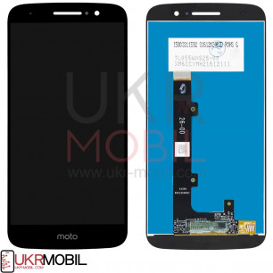 Дисплей Motorola XT1662, XT1663 Moto M, с тачскрином, Original PRC, Black