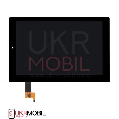 Дисплей Lenovo Yoga Tablet 2 1050L, с тачскрином, Black, фото № 3 - ukr-mobil.com