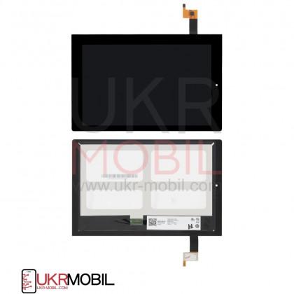 Дисплей Lenovo Yoga Tablet 2 1050L, с тачскрином, Black, фото № 1 - ukr-mobil.com